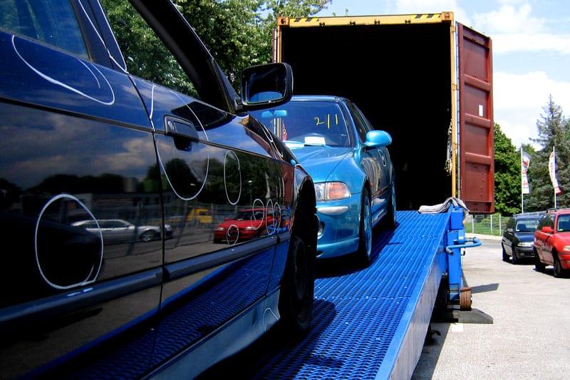 Transport durch Leckebusch